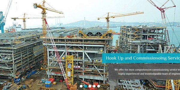hook up and commissioning company